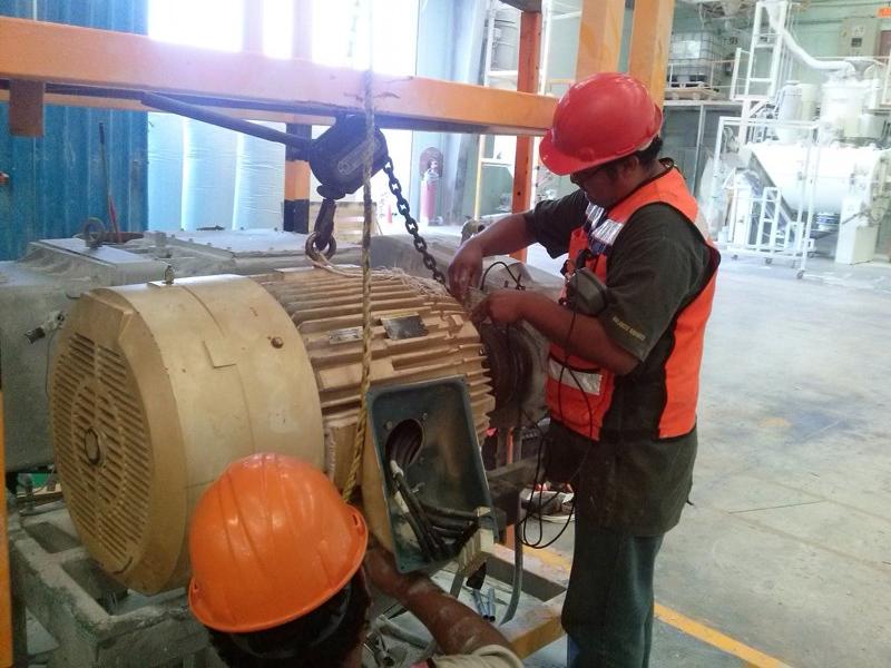 mantenimiento a motores industriales