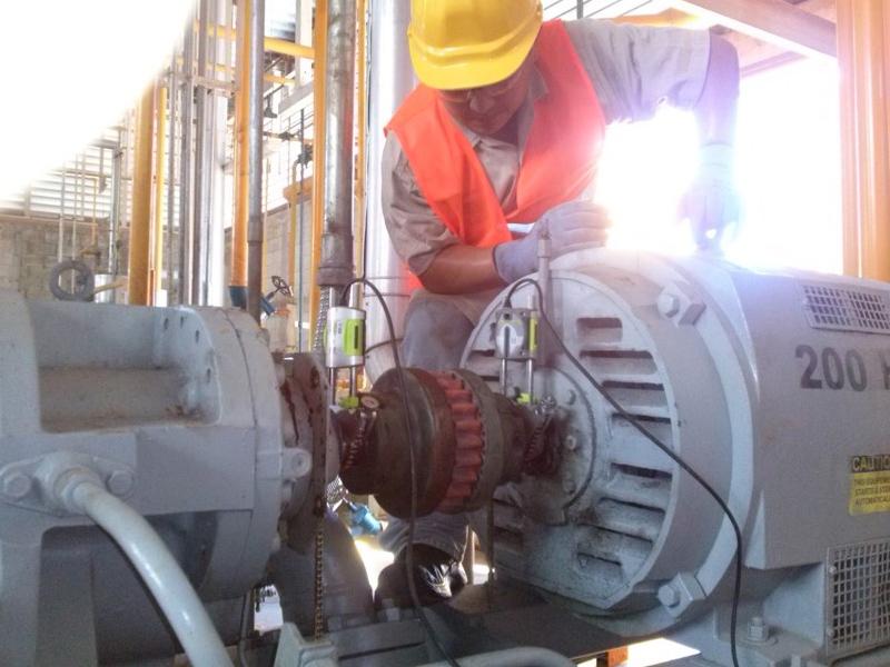 motor en mantenimiento