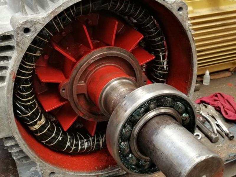 eje de motor industrial en mérida