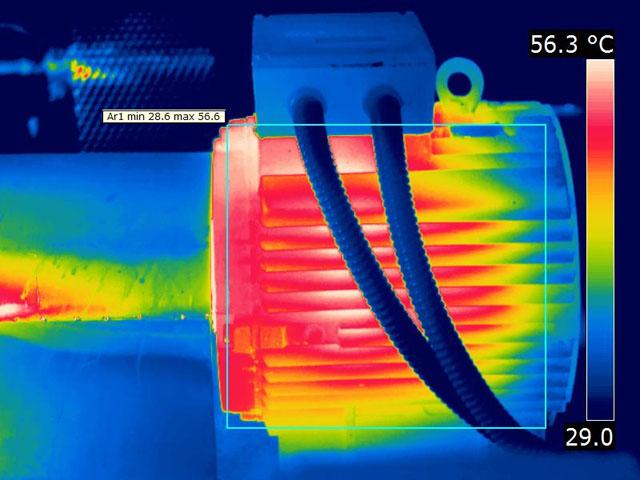 termografía motor